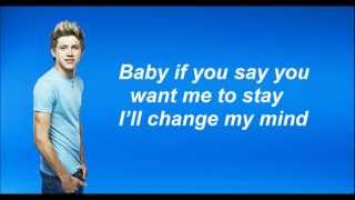 One Direction - Change my mind (Lyrics and Pictures)