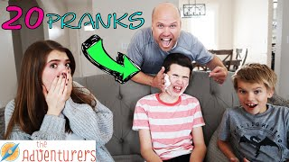 20 Pranks To Pull In 2020 I That YouTub3 Family The Adventurers
