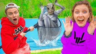 CARTER SHARER Officially Caught POND MONSTER!! Time for Face Reveal (Its all over..)