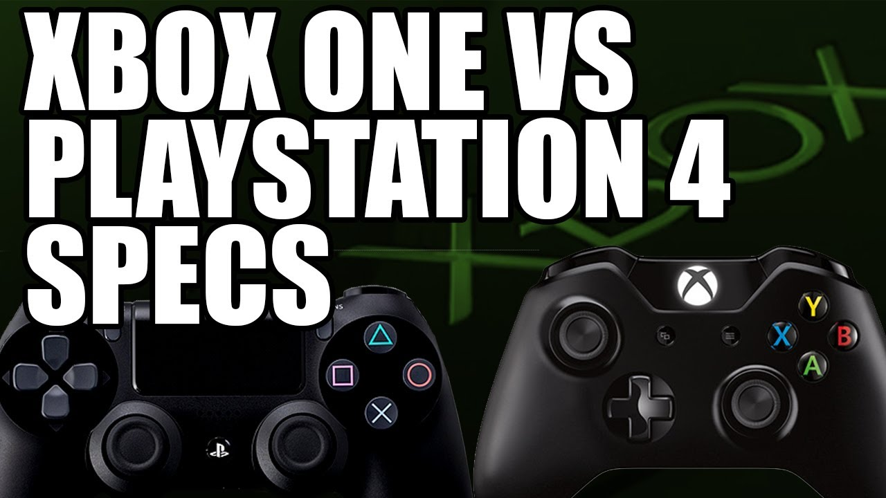 Xbox One Vs Playstation 4 Memory, Graphics Card (GPU), CPU ...Ps4 Graphics Card Vs Xbox One Graphics Card