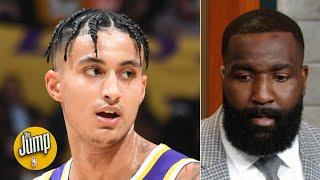 Kyle Kuzma needs to change the way he's playing on offense - Kendrick Perkins | The Jump