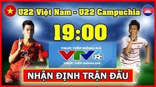 lịch phát sóng trực tiếp bóng đá VTV6 - U22 Việt Nam vs U22 Campuchia - Lịch thi đấu bóng đá hôm nay