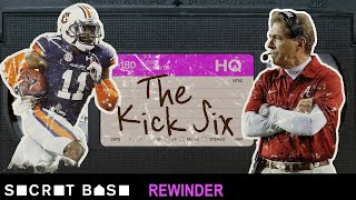 The Kick Six, Auburn's Iron Bowl miracle vs. Alabama, deserves a deep rewind
