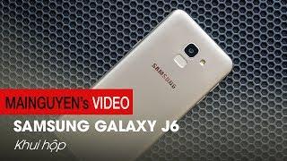 Khui hộp Samsung Galaxy J6: Smartphone tầm trung với màn hình vô cực - www.mainguyen.vn