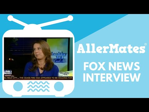 AllerMates founder Iris Shamus on A Healthy You with Carol Alt, FoxNews 9.6.14
