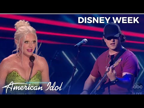 Country Teen Caleb Kennedy WOWS The Judges With His Disney Week Performance!