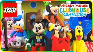 ♥ LEGO Mickey Mouse Clubhouse DONALD DUCK FISHING (BIRTHDAY CAKE, BBQ PARTY, SCARY STORIES...)