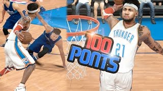 SCORING OVER 100 POINTS ON HALL OF FAME!! 4 ANKLE BREAKERS!! NBA 2k17 MyCAREER Ep. 119