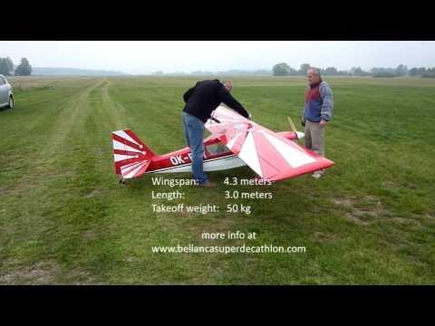 Bellanca Super Decathlon Test Flight