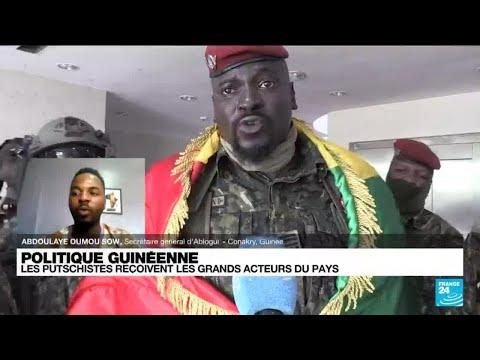 Guinée : les putschistes reçoivent les grands acteurs du pays