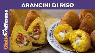 ARANCINI DI RISO SICILIANI: ricetta originale!