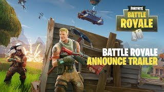 Fortnite - Battle Royale Announce Trailer