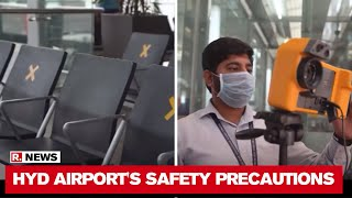 Hyderabad Airport with a slew of new operational procedure..