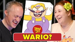 Animator Vs. Cartoonist Draw Nintendo Characters From Memory • Draw Off