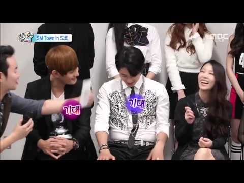 [ENG SUB] 141012 What is BOA's choice among Yunho, Eunhyuk, Taemin, and Sehun ?