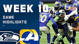 Seahawks vs. Rams Week 10 Highlights | NFL 2020