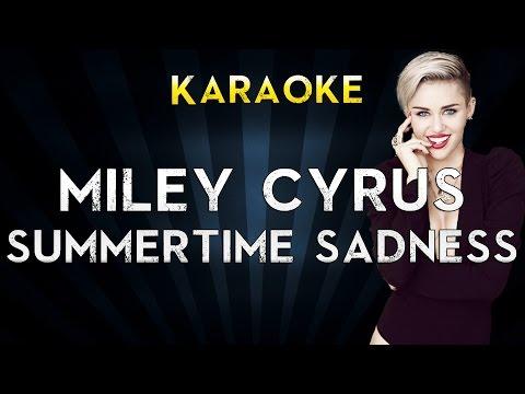 Baixar Summertime Sadness - Lana Del Rey / Miley Cyrus (Karaoke/Instrumental)