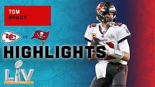 Tom Brady Secures His 7th Super Bowl Victory! | Super Bowl LV Highlights