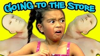 Kids React To going to the store!