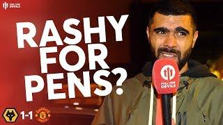 RASHFORD OR POGBA FOR PENALTIES? Wolves 1-1 Man Utd Match Review