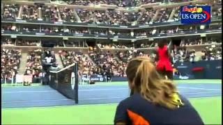 Serena Williams FIGHT TENIS US Open 2011