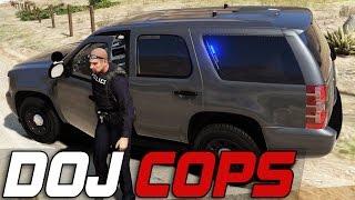 Dept. of Justice Cops #164 - Busy Shift (Law Enforcement)