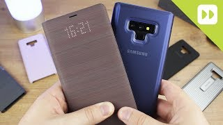 Samsung Galaxy Note 9 Official Case Round Up - First Look