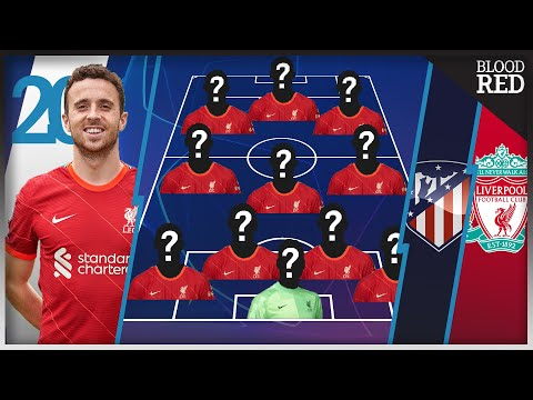Jota Starts   Team Selector   Atletico Madrid vs Liverpool   Champions League