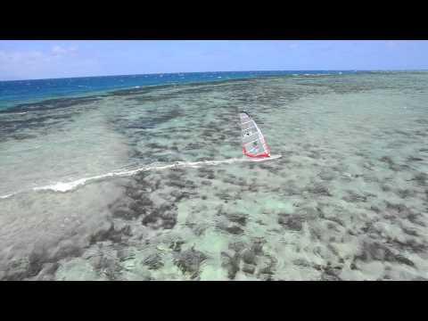 Windsurfing paradise New Caledonia