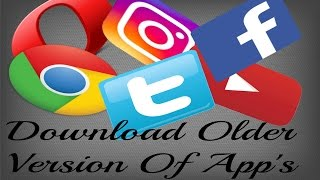 Download Older Version Of Apps - iphone - 100% successful