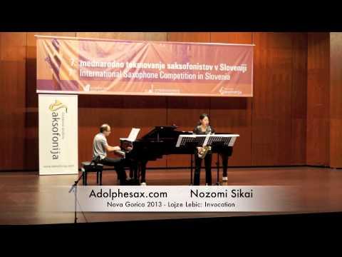 Nozomi Sikai - Nova Gorica 2013 - Lojze Lebic: Invocation