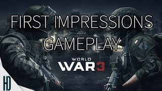 World War 3 First Impressions | MY NEW FAVORITE GAME | Overview | Is It For You? | 4K 60fps