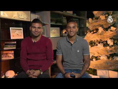 Merry Christmas and a Happy New Year from Casemiro and Danilo!