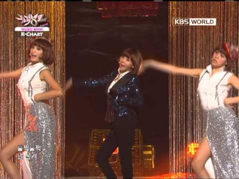 [Music Bank K-Chart] Shanghai Romance - Orange Caramel (2011.10.14)