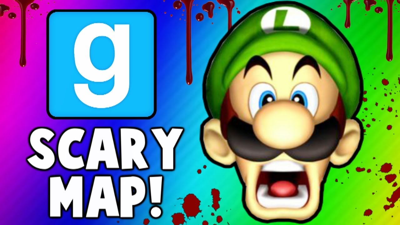 Gmod Scary Map Funny Moments Jump Scares Monsters