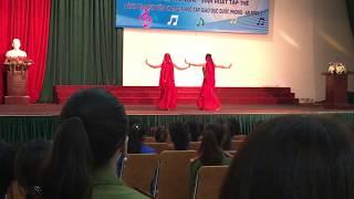 Múa Ấn Độ tempation đẹp nhất 2017 ( Hoàng Oanh - Lưu huyền )