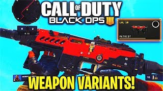 """How To Use """"WEAPON VARIANTS"""" in COD BO4! - MX9 """"PATRIOT"""" VARIANT GAMEPLAY in COD BO4! (BO4 VARIANTS)"""
