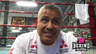 ROBERT GARCIA ON PACQUIAO VS MATTHYSSE: I KNEW MANNY WOULD STOP HIM. WHATS NEXT FOR MANNY