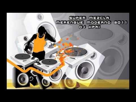 SUPER MEZCLA MERENGUE MODERNO 2011 DJ KPRI