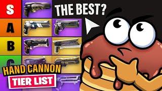 Hand Cannon PvP Tier List Rankings (Destiny 2)