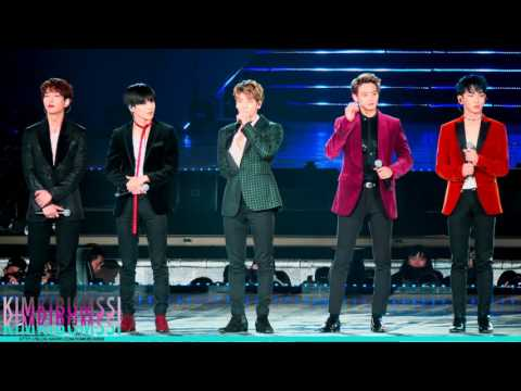 [4K] 161127 Super Seoul Dream Concert 2016 _ SHINee _ Tell Me What To Do + 1 of 1