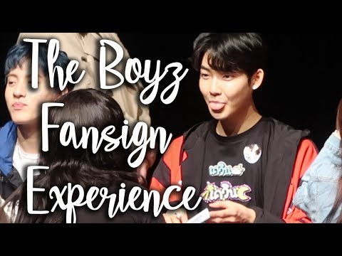 THE BOYZ FANSIGN EXPERIENCE #3 (THEY ALL REMEMBER ME!)