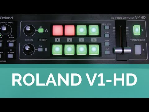 video Roland V-1HD HD Video Switcher