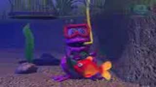 La rana que esta abajo del agua