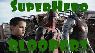 Superheroes Movies - Bloopers