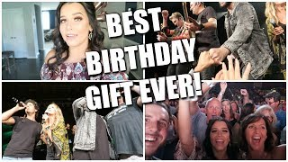 THE BEST BIRTHDAY GIFT EVER!!