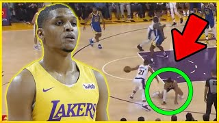 This Lakers UNDRAFTED ROOKIE CAN'T STOP BREAKING ANKLES In The NBA Pre-Season!
