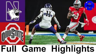 #4 Ohio State vs #14 Northwestern Highlights | 2020 Big 10 Championship | College Football Highlight