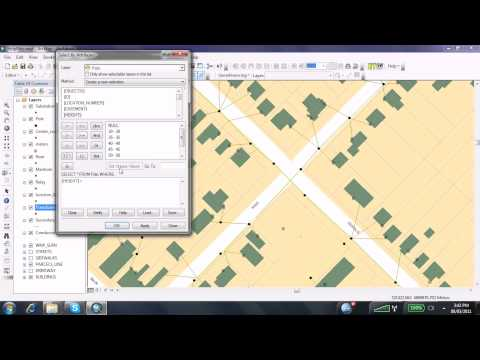 How To Make a Selection By Attribute in ArcGIS