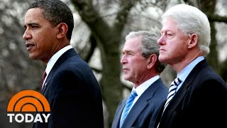 Former Presidents Call For Unity In Wake Of Capitol Hill Riot   TODAY
